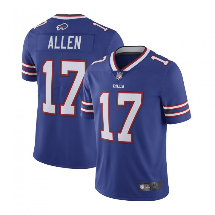 Franklin Sports Men's Josh Allen #17 Buffalo Bills Vapor Untouchable Limited Jersey - Royal