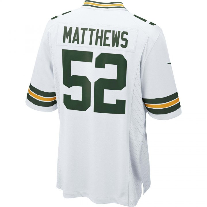 Clay Matthews Green Bay Packers Nike Game Jersey (White)