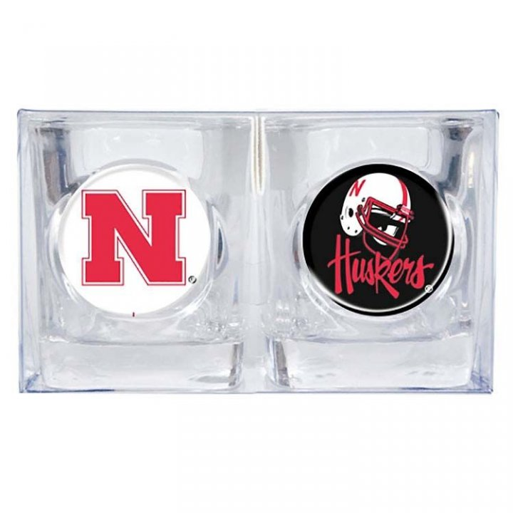 Nebraska Cornhuskers 2oz Shot Glass Set