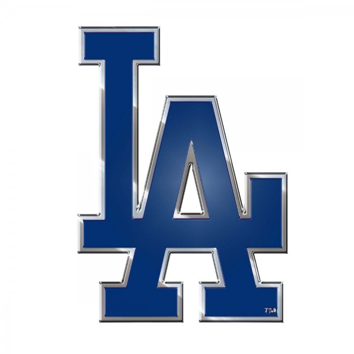 Los Angeles Dodgers Color Emblem
