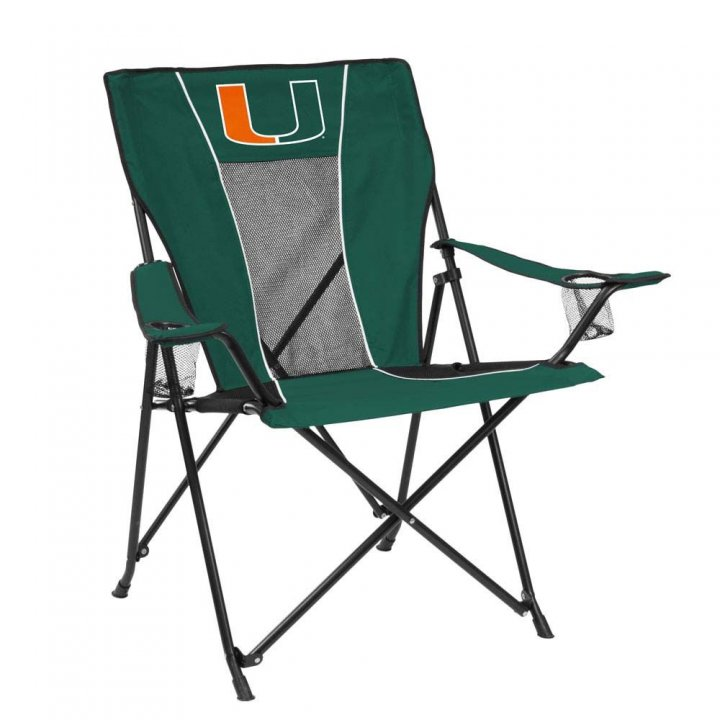 Miami Hurricanes Game Time Chair