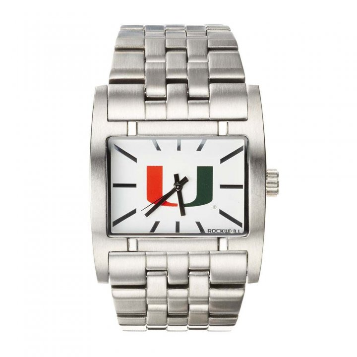 Miami Hurricanes Apostle Watch (Silver)