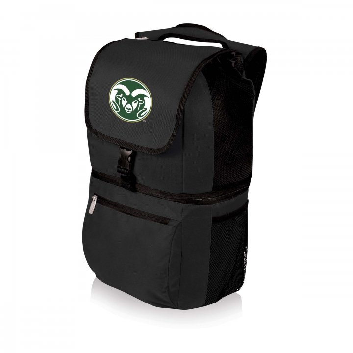 Colorado State Rams Zuma Cooler Backpack (Black)