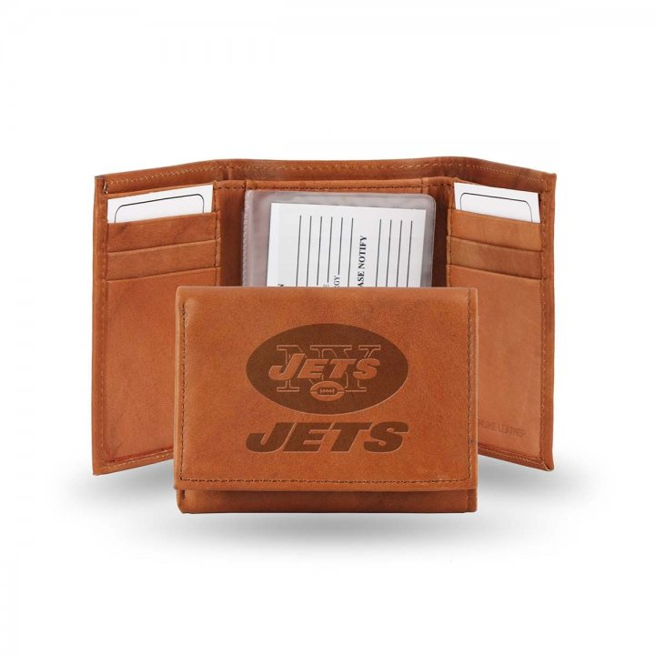 New York Jets Tri-Fold Wallet