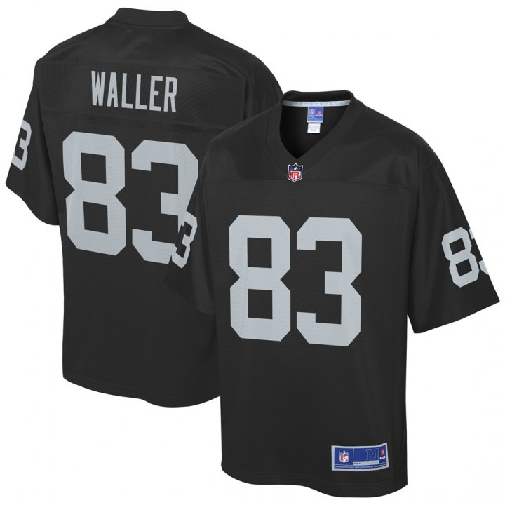 Outerstuff Youth Kids 83 Darren Waller Oakland Raiders Jersey Black