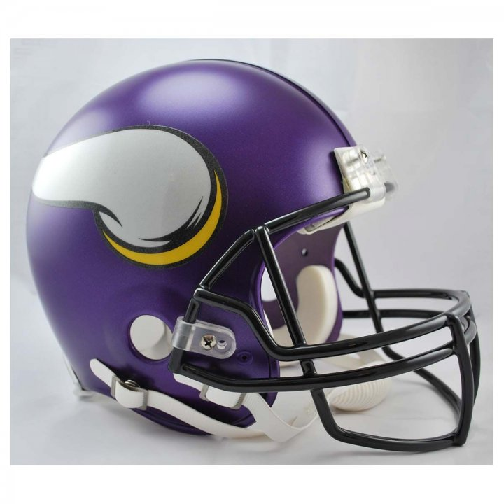 Minnesota Vikings VSR4 Authentic Helmet