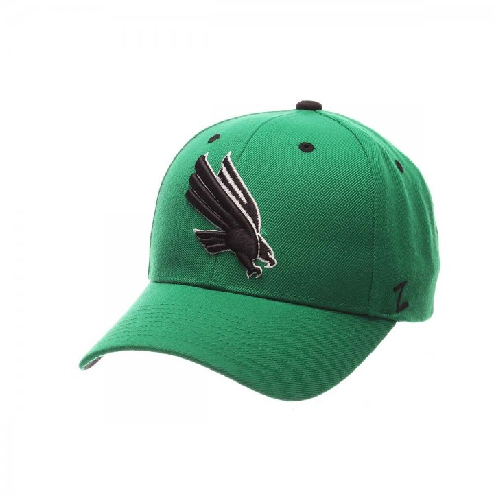 North Texas Mean Green Competitor Adjustable Hat (Green)