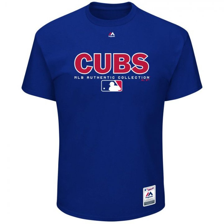 Chicago Cubs MLB Team Drive T-Shirt (Royal)