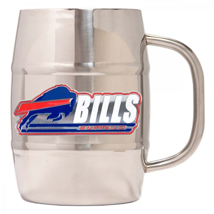 Buffalo Bills Buffalo Bills 32 oz Double Wall Stainless Steel Mug
