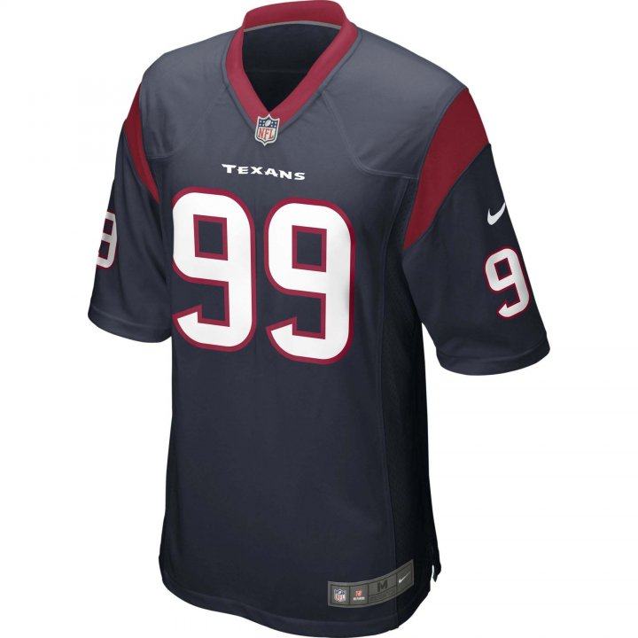 JJ Watt Houston Texans Nike Game Jersey (Navy)
