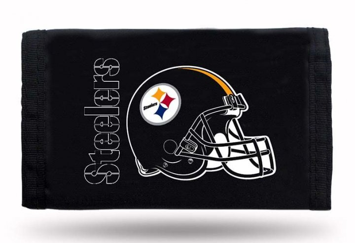 Pittsburgh Steelers Nylon Wallet (Black)