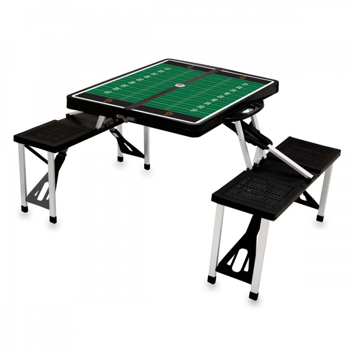 Wyoming Cowboys Portable Picnic Table with Sports Field Design