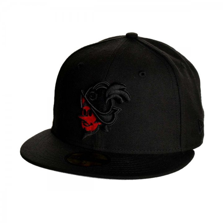 Albuquerque Dukes MiLB Faced Duke 5950 (Black)