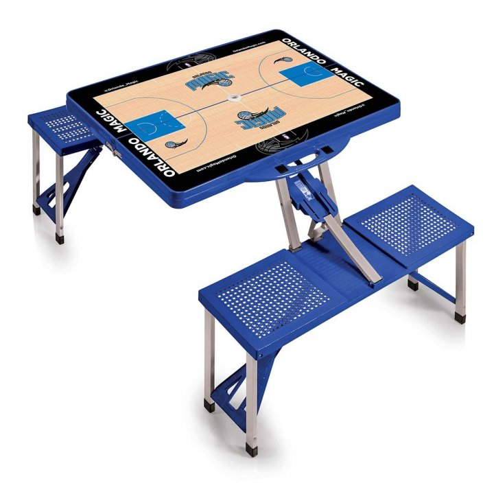 Orlando Magic Portable Picnic Table with Sports Field Design