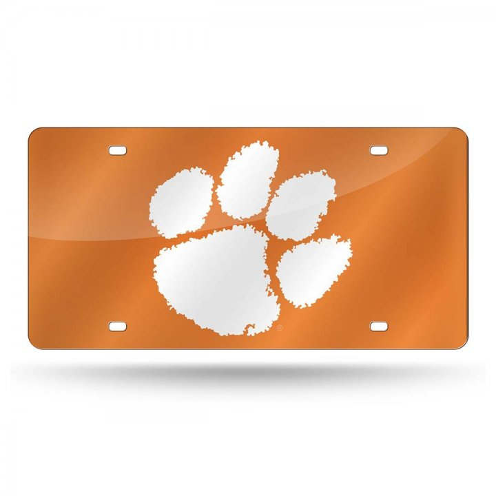 Clemson Tigers NCAA Laser Cut Tag