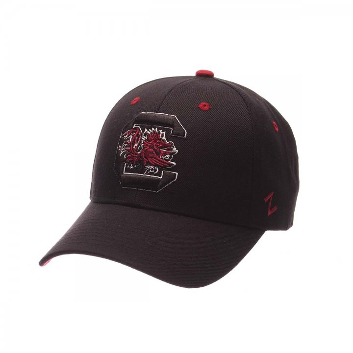 South Carolina Gamecocks Competitor Adjustable Hat (Black)