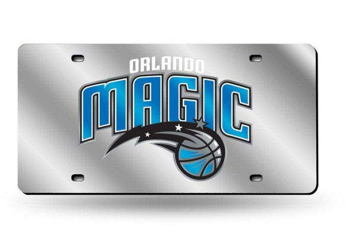 Orlando Magic NBA Laser Cut Alternate License Plate Tag