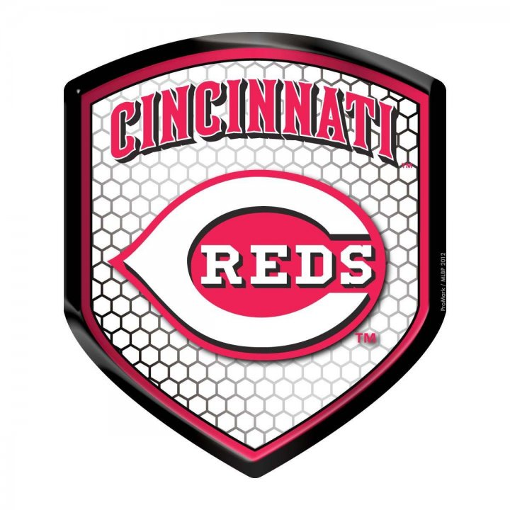 Cincinnati Reds Shield Reflector