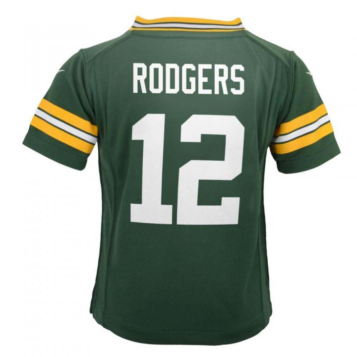 Aaron Rodgers Green Bay Packers Nike Toddler Game Jersey (Green)