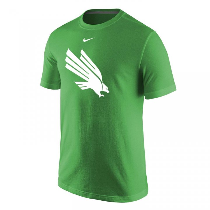 North Texas Mean Green Primary Logo T-Shirt (Green)