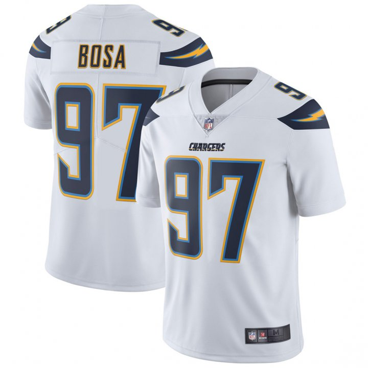 Outerstuff Youth Kids 97 Joey Bosa Los Angeles Chargers Jersey White