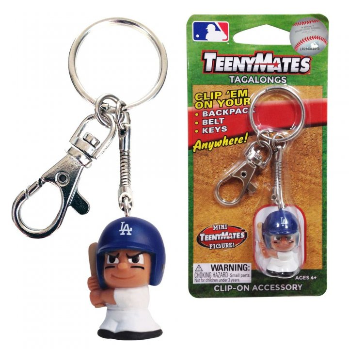 Los Angeles Dodgers Tagalong Keychain