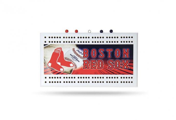 Boston Red Sox Field Cribbage Board