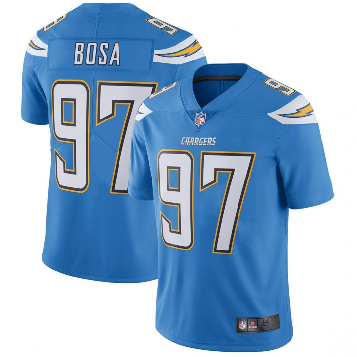 Outerstuff Youth Kids 97 Joey Bosa Los Angeles Chargers Jersey Light Blue