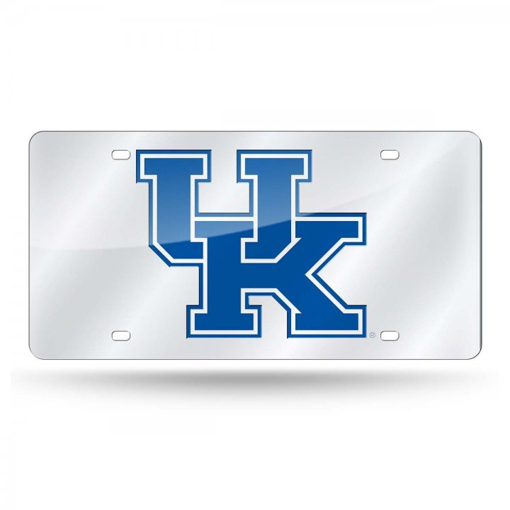 Kentucky Wildcats NCAA Alternate Laser Cut License Plate Tag