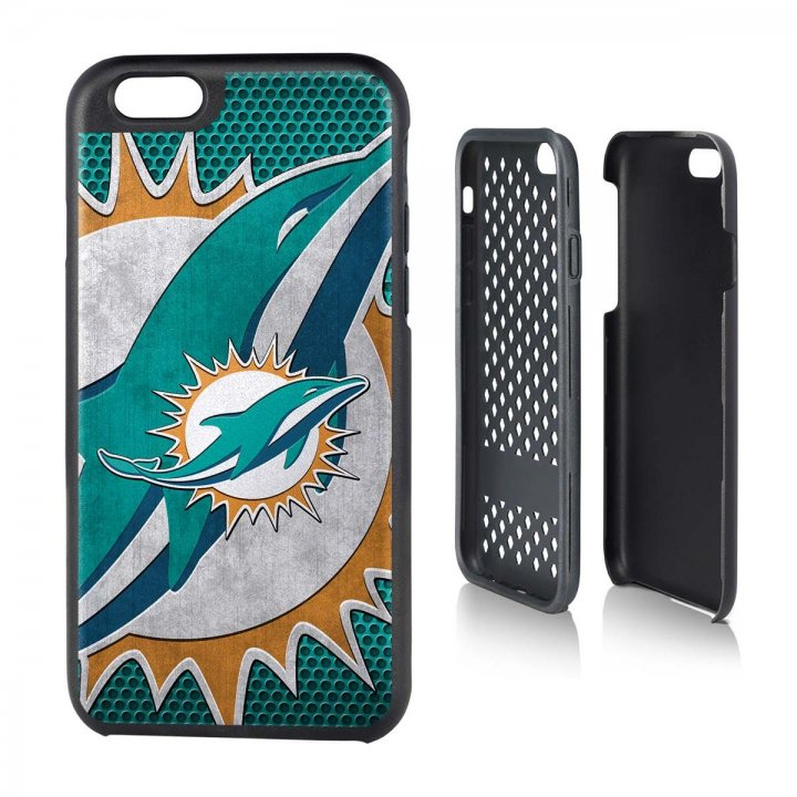 Miami Dolphins iPhone 6 Rugged Series Case
