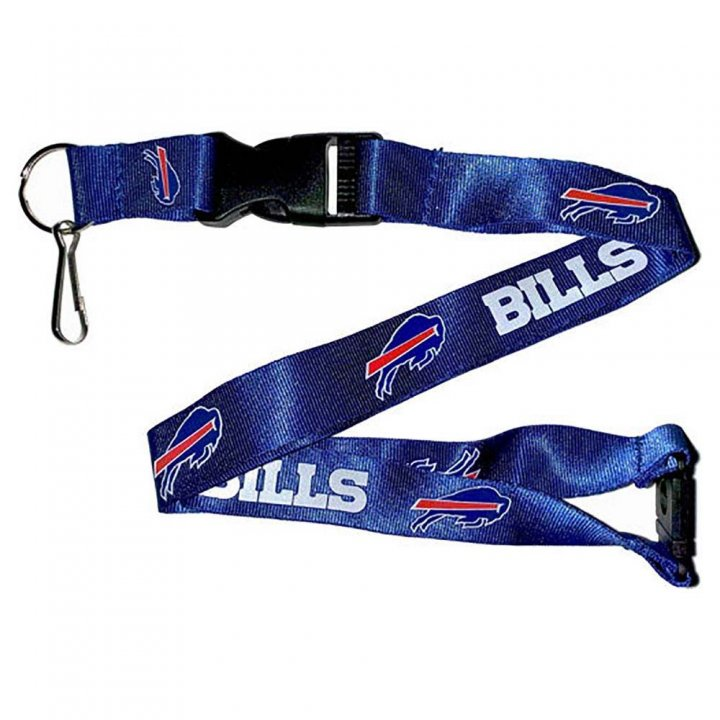 Buffalo Bills Team Logo Lanyard (Blue)