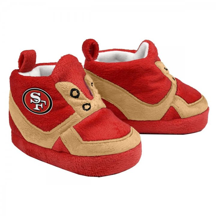 San Francisco 49ers Sneaker Baby Booties