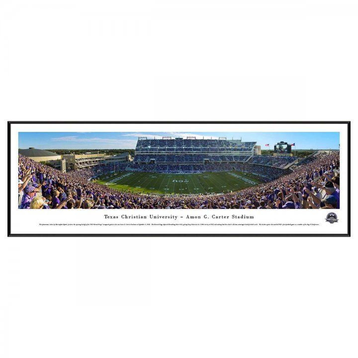TCU Horned Frogs Standard Frame