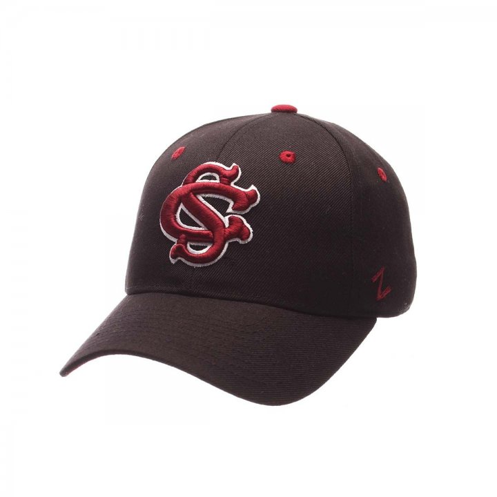 South Carolina Gamecocks Zephyr NCAA Dh Fitted Hat (Black)