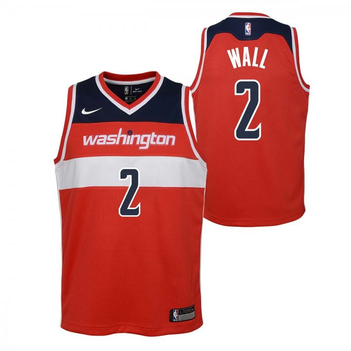 Washington Wizards NBA John Wall Youth Icon Swingman Jersey (Red)