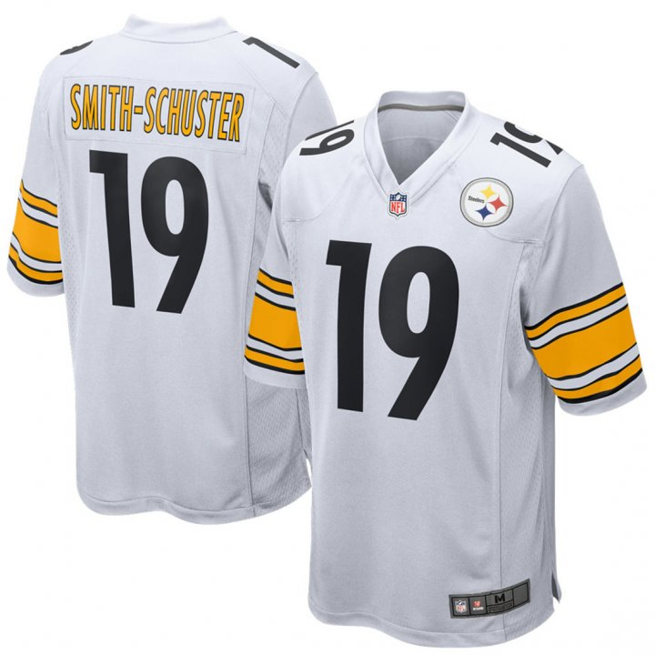 Franklin Sports Youth Kids 19 JuJu Smith-Schuster Pittsburgh Steelers Jersey White