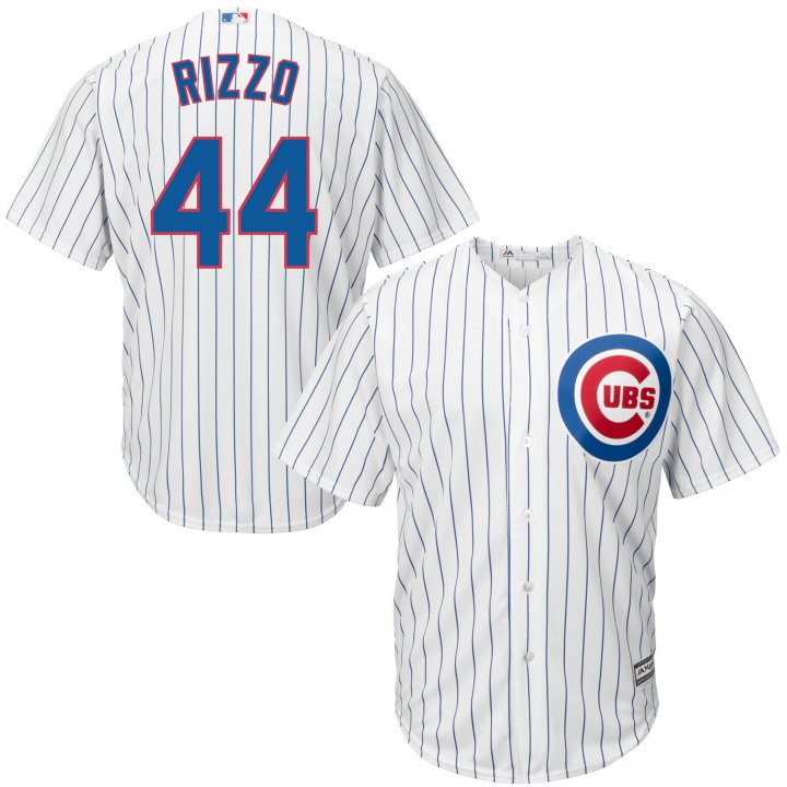 Outerstuff Youth Kids 44 Anthony Rizzo Chicago Cubs Baseball Jersey White