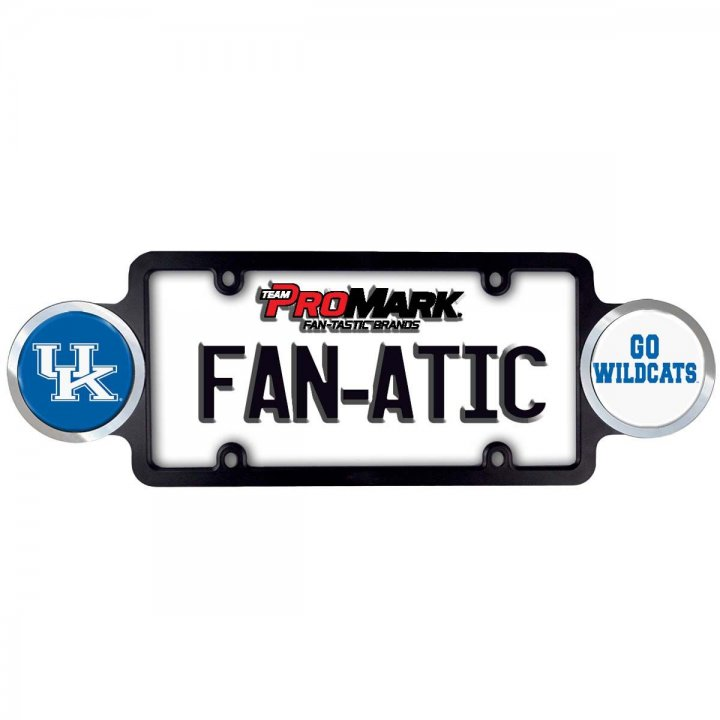 Kentucky Wildcats Badge License Plate Frame