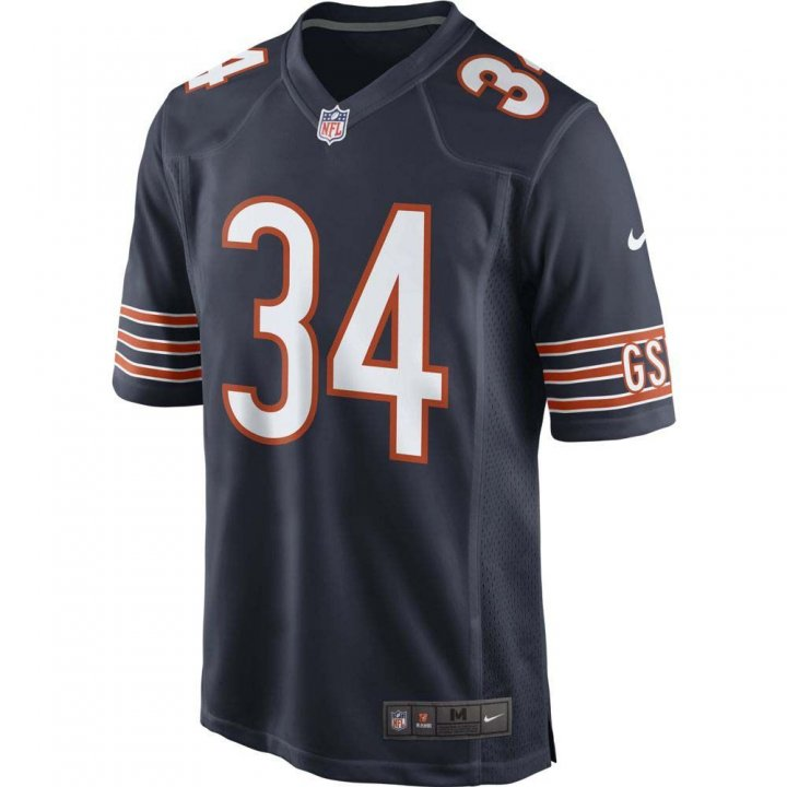 Chicago Bears NFL Jordan Howard Nike Game Jersey (Navy)