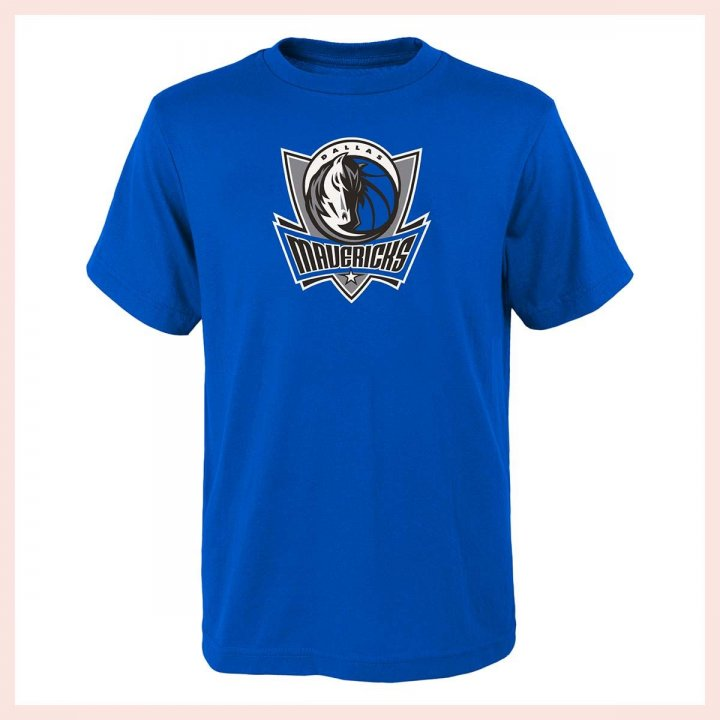 Dallas Mavericks NBA Youth Primary Logo Tee (Blue)