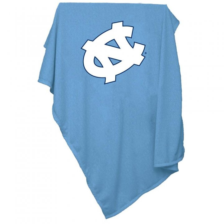 North Carolina Tar Heels Sweatshirt Blanket