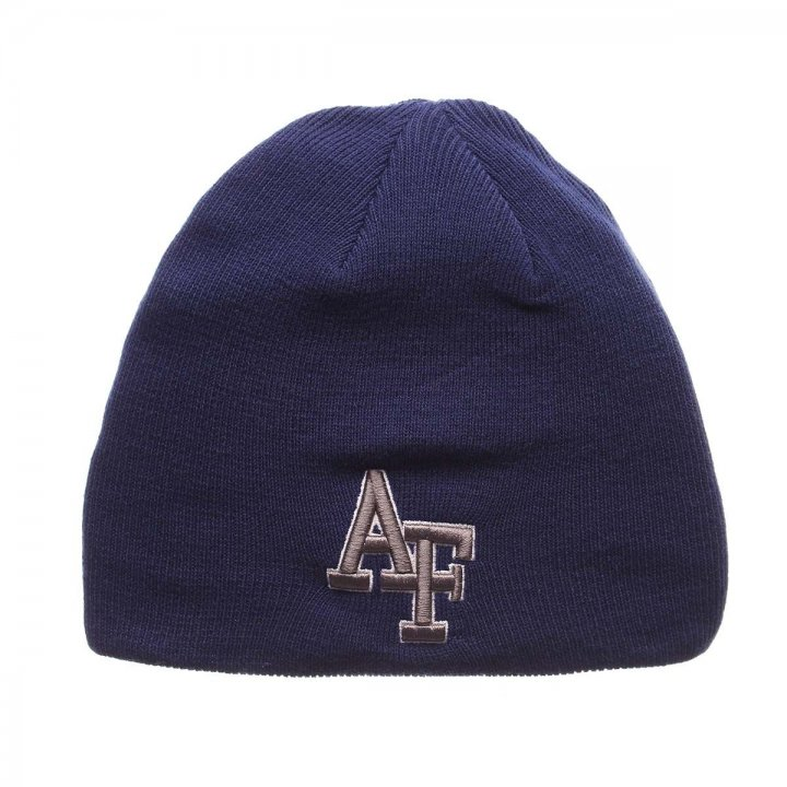 Air Force Falcons Edge Knit Beanie (Royal)