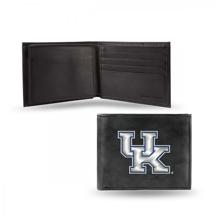 Kentucky Wildcats NCAA Leather Wallet (Black)