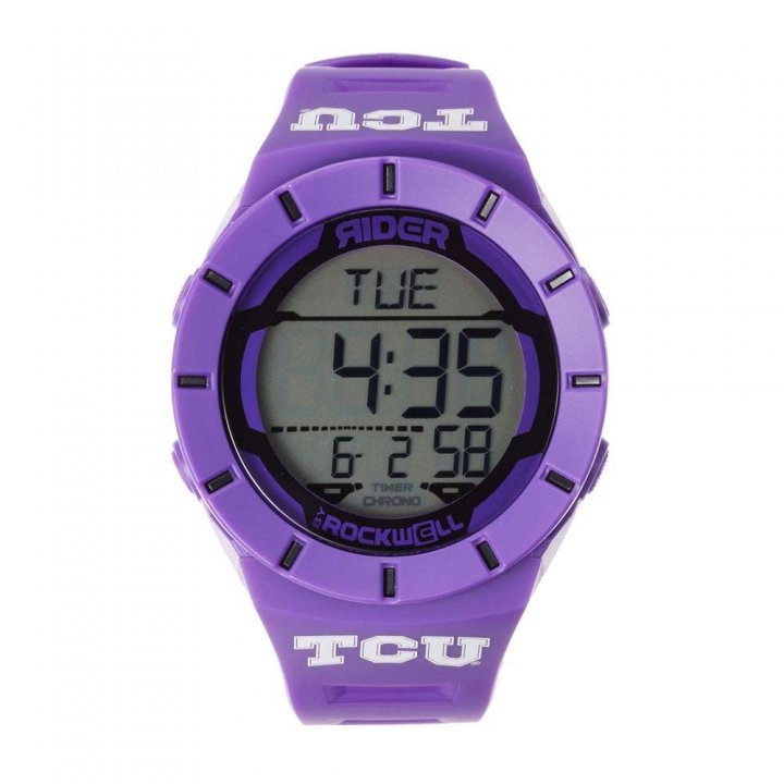 TCU Horned Frogs Coliseum Watch (Purple)