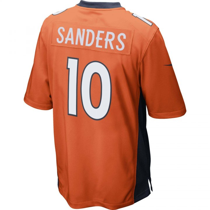 Emmanual Sanders Denver Broncos Nike Game Jersey (Orange)