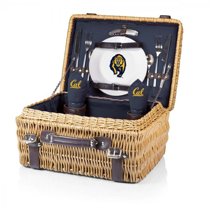 CAL Golden Bears Champion Picnic Basket (Navy)