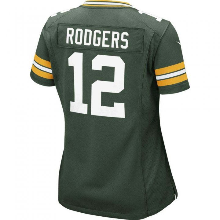 Aaron Rodgers Green Bay Packers Nike Womens Game Jersey (Green)