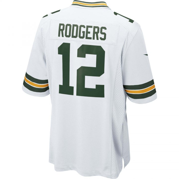Aaron Rodgers Green Bay Packers Nike Game Jersey (White)