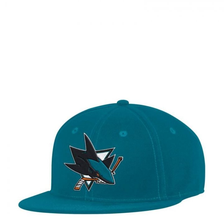 San Jose Sharks NHL Core Basic Launch Fitted (Teal)