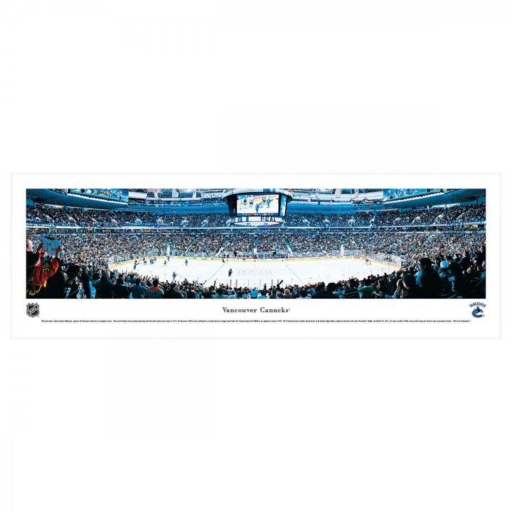 Vancouver Canucks Unframed Panorama